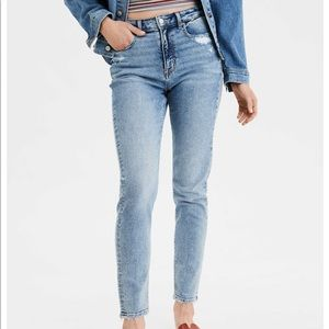 American Eagle size 8 stretch mom jeans